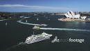 Sydney Opera House with Ferries Passing 3129
