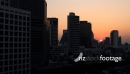 Sun Setting in Bangkok CBD Thailand -TIME LAPSE 3338