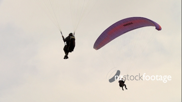 Paragliding Picton Slow Motion  5  1887