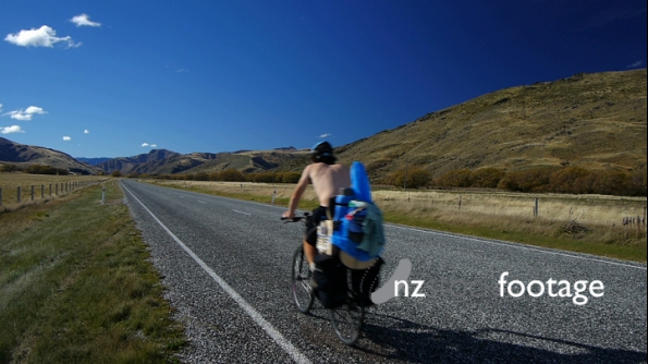 Highway Cyclist New Zealand 3691
