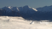 Remarkable Mountain Range Above Cloudline 1 TIMELAPSE 3209