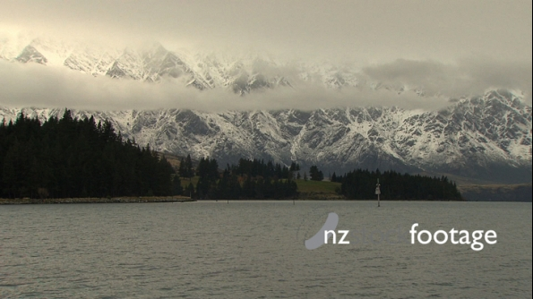 Queenstown Remarkables on Snowy Day 3173
