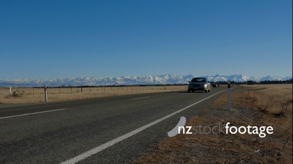 Southern Alps and Roadside 3636