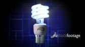 Light Bulb Eco Kiwi Blue 2 1313