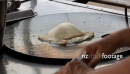 Making Thai Roti at Market Thailand 1 2265