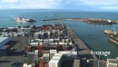 Container Ship Arriving in Napier TIMELAPSE 3034