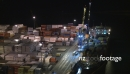 Container Ship Loaded at Night, Napier TIMELAPSE 3032