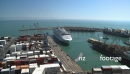 Cruise Ship Arriving in Napier TIMELAPSE 3033
