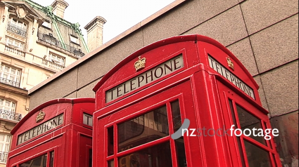 London Telephone Booth 214