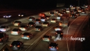Evening Rush Hour on 101 Freeway, Los Angeles 2654