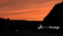 Sunset on the I-84 in Virginia USA 2542