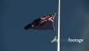 New Zealand Flag at Half Mast 2922