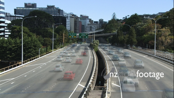 Wellington Motorway Time-Lapse 2 1002