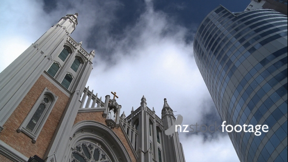 Magestic Centre and Church Timelapse 2915