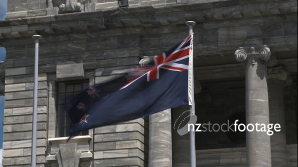 Parliament Building New Zealand Flag 1 1183