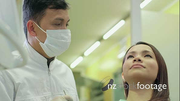 Young Asian Woman As Patient During Visit In Dental Studio 11613