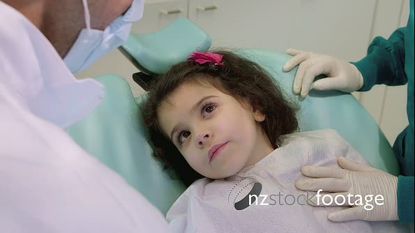 Little Child During Visit In Dentist Clinic 11656