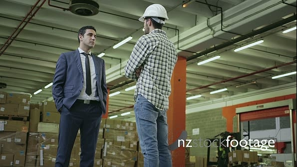 Two People Working In Warehouse Workers In Industry 11770