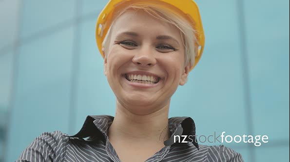 Female Engineer Smiling At Camera 12144