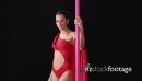 Acrobatic Show With Girl Dancing Pole Dance 12280