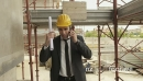 Engineer Talking On Mobile Phone In Construction Site 12321