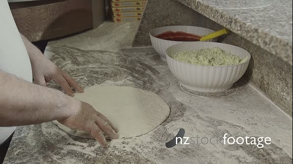 Food Preparation Pizza Making Cook Working In Italian Restaurant 12845