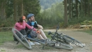 Couple relaxing with bicycles 15910