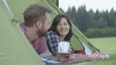 Couple camping 15958
