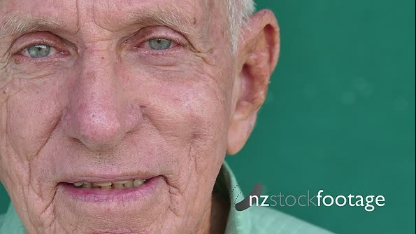 25 White People Portrait Happy Senior Man Smiling At Camera 17286