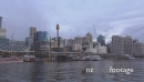 Night falls Darling Harbour Sydney time lapse HD 17747