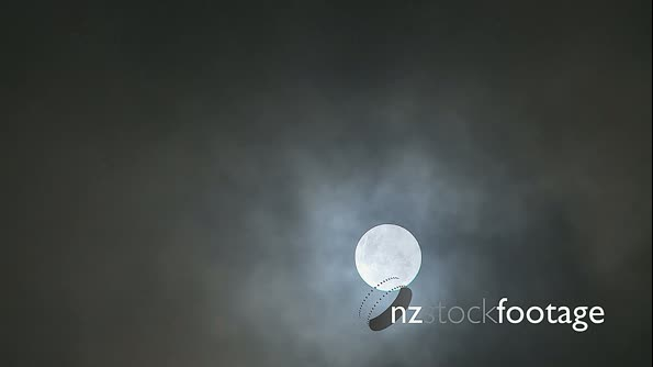 Cloudy Moon TIME LAPSE 1796