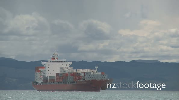 Container Ship Napier New Zealand 3 1833