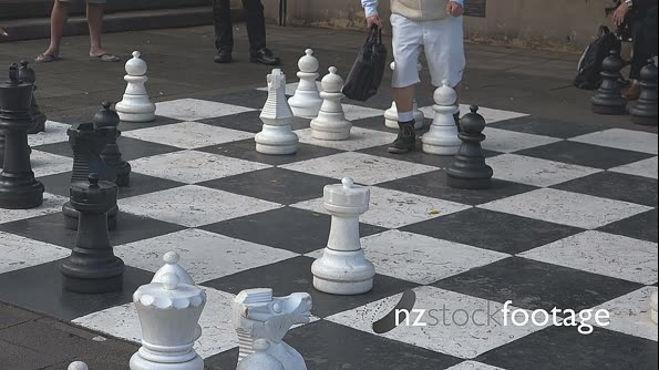 Chess Large Urban Outside Set  HD 18448