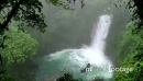 Waterfall Lagoon Rainforest Jungle Tenorio Volcano National Park 18539