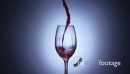 7 Glass Filled With Red Wine In Super Slowmotion 240p 18756