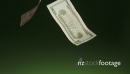 10 Dollars Banknotes Falling In Super Slowmotion 240p 18759