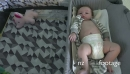 Baby on Changing Table on Pack and Play 19029