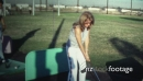 (8mm Vintage) 1971 Women At Golf Driving Range 19516