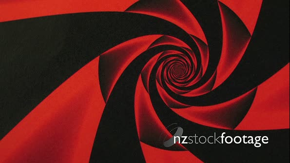 Valentines Day Red Rose Design Swirl Animation Background 19916