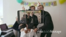 5 Business People Celebrating Colleague Birthday Party In Office 20875