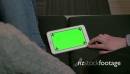 Ipad Digital Tablet Computer Green Screen Monitor Internet Social Media 20923