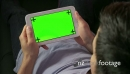 Relax At Home Internet Green Screen Monitor Man Ipad Tablet 21056