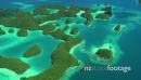 Sky View From Aircraft Palau Micronesia Pacific Ocean Tropical Sea 21115