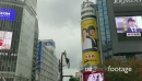 City View With Buildings Signs Lights Billboards Shibuya Tokyo Japan 21146