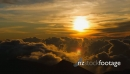 Time Lapse, Epic sunrise with clouds formation at 10000ft 21697