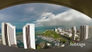 Timelapse of Honolulu, Hawaii, Fisheye 21700