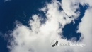 View in the sky with fast moving clouds 22086