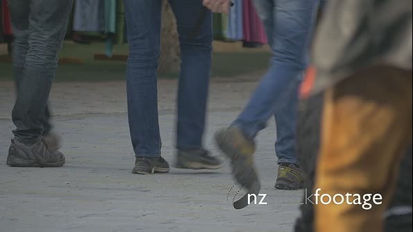 People walking around, only legs and feet 22439