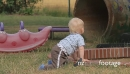 Baby Playing On Playground (People) 22459