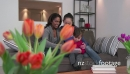 Lesbian Couple Using Ipad Tablet With Child Happy Homosexual Family 23641